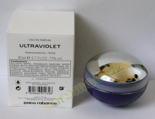 Paco Rabanne Ultraviolet  edp 80ml lady tester