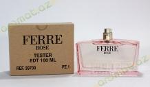 Gianfranco Ferre rose edt 100ml lady tester